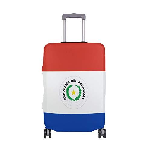 FANTAZIO Koffer Schutzhülle Kofferhülle Kofferhülle Fahne von Paraguay