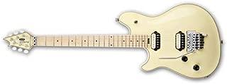 EVH Wolfgang USA Left-Hand Electric Guitar, 22 Frets, Maple Fretboard, Quartersawn Maple Neck, Gloss Urethane, Vintage White