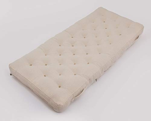 Amazing Deal Wool Mattress/Twin, Full, Queen, King or Any Custom Sizes, Shapes & Fabrics (100% Cotto...