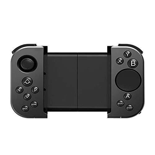 ZOUJIARUI Controlador móvil Gamepad, Controlador de Juegos móvil para el Controlador telescópico Controlador Bluetooth Extensible Joystick Portable Game Manija, Ancho de Estiramiento máximo 165mm