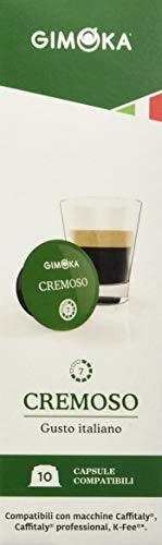 Gimoka - Capsule Compatibili Caffitaly, Gusto Cremoso - 80 Capsule