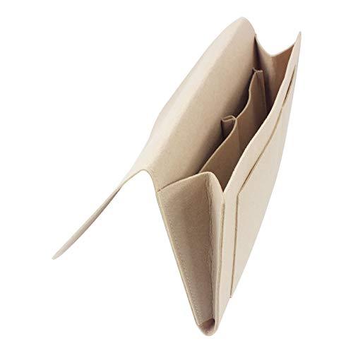 Organizador Mandos Sofa Bolsa de almacenamiento de la cama de fieltro Sofá Sofá Almacenamiento Organizador Escritorio Bolsa Colgante Control Remoto Book Book Bolsets Titular para dormitorio Organizado