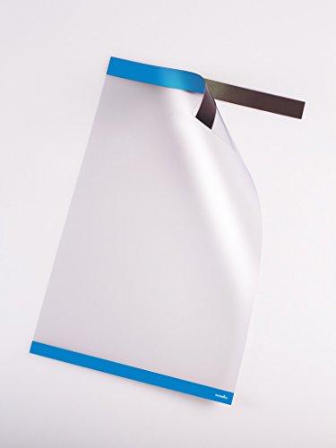 Posterfix, Dokumentenbefestigungssystem, 5er Pack, blau, A4