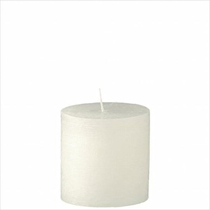 リンケージ袋療法ヤンキーキャンドル(YANKEE CANDLE) ラスティクピラー3×3 「 シルキーホワイト 」 キャンドル