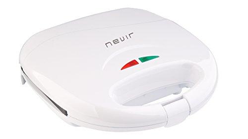 Nevir NVR-9468 SM 750W Color blanco - Sandwichera (750 W, 25