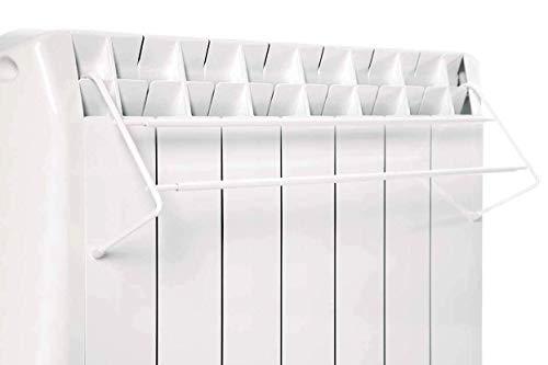 farho Tendal Telescópico de Acero Lacado en Blanco para emi