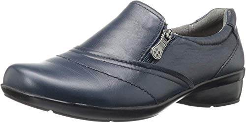 Naturalizer Women's Clarissa Slip-on Shoe,Navy,8 W US