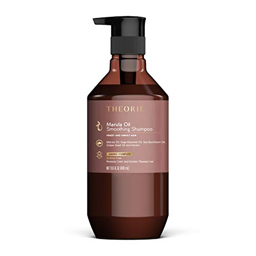 top 10 theorie shampoo Theoretical Marula Oil Transforming Shampoo – Sulfate Free, 27 fl oz.