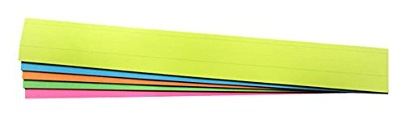 RiteCo Bright Sentence Strips, Asstorted Colors, 24