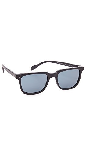 Image of the Oliver Peoples Eyewear Men's NDG Sunglasses, Noir/Indigo Photochromic, Black, Blue, One Size
