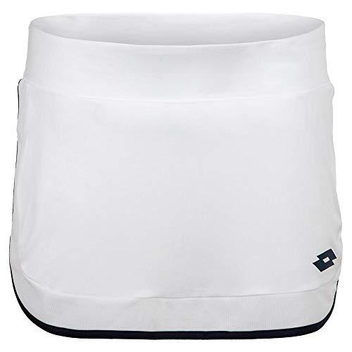 Lotto Shela IV Skirt W - Gonna da Donna, Colore: Bianco (, Donna, Bianco, M