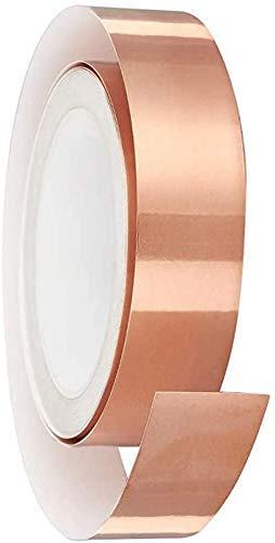 Cinta repelente de caracoles de cobre de 30 mm x 20 m,...