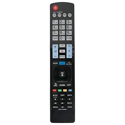 VINABTY AKB73756565 Ersatz Fernbedienung passend für LG 42LB650V 50LB650V 55LB650V 60LB650V 32LB650V 32LB650 39LB650 42LB650 47LB650 50LB650 55LB650 60LB650 70LB650
