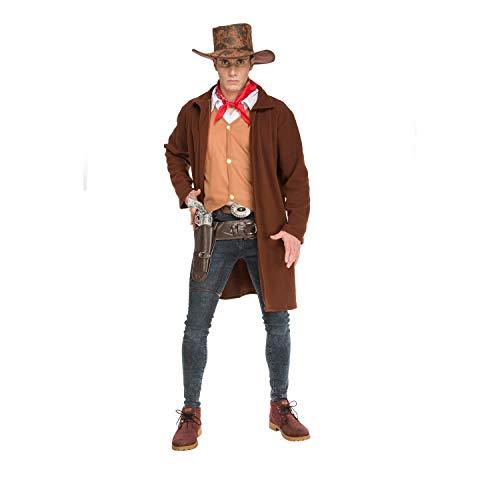 My Other Me Me-204256 Disfraz cowboy para hombre, M-L (Viving Costumes 204256