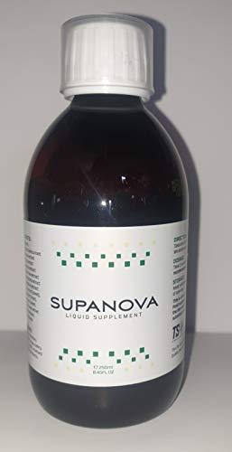 Supanova Liquid Food Supplement 4 X 250ml Bottle - Energy Booster, Fat Burner