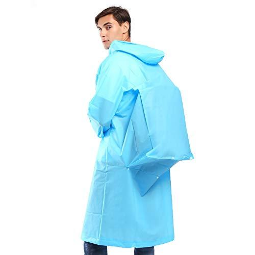 Goldenla regenjas voor dames en heren Blauw
