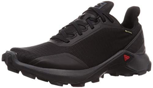 Salomon Damen Trail Running Schuhe, ALPHACROSS GTX W, Farbe: schwarz (black/ebony/black) Größe: EU 38