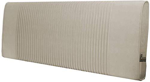Cojín- Cama Respaldo Respaldo Cama de la Almohadilla del Respaldo del Amortiguador cabecero Suave Bolsa Trasera Grande Tela Estilo Moderno IKEA Simple Lavable