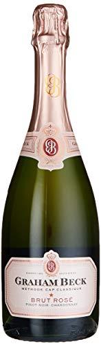 Graham Beck Cap Classique Brut, Rosé, Western Cape Sekt (1 x 0.75 l)
