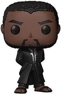 Funko Pop. Marvel: Pantera Negra - Albornoz Pantera Negra, Estándar