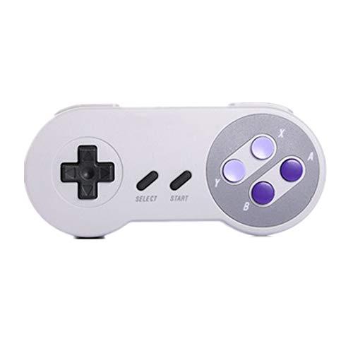Zhengowen Gamepad Gris Wireless Gamepad contrôleur de Jeu Bluetooth Peut être utilisé for Les Ordinateurs Portables et Les téléphones Mobiles Wireless Gamepad (Couleur : Gris, Size : M)