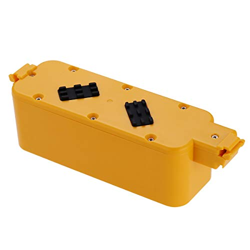 Powerextra 14.4v 3000mAh Battery Compatible with Roomba 400 405 410 415 416 418 4000 4100 4105 4110 4130 4150 4170 4188 4210 4200 4220 4225 4230 4232 4260 4296 Dirt Dog Discover Scheduler