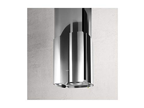 Elica Chrome Island Kitchen Hood 69315977C-85cm