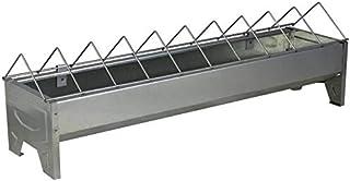 La Ferme Sauvegrain Mangeoire linéaire en métal galvanisé - 30cm