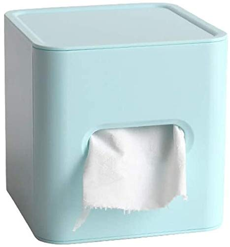 CNMYDZ Tissue box Square Paper Facial Tissue Box Cover Holder for Bathroom Vanity Countertops, Bedroom Dressers, Night Stands, Desks and