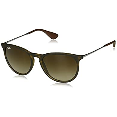 112dbcf0d3 Amazon.com  Ray Ban Aviator RB4222 865 13 Tortoise  Brown Gradient 50mm  Sunglasses  Clothing