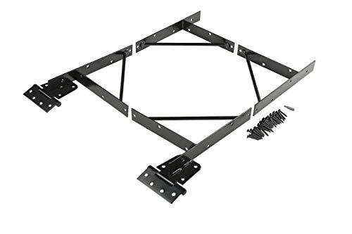 Anti Sag Gate Kit N109-060 by National Hardware in Black