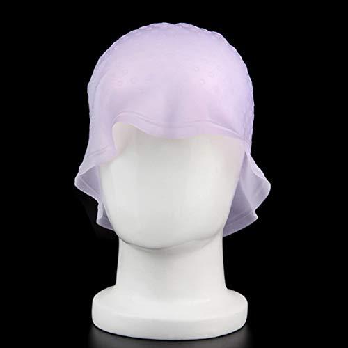 Rouku Hervorheben von Dye Cap Wiederverwendbare Haarfarbe Zuckerguss Silikonkappe Färben Styling Tools