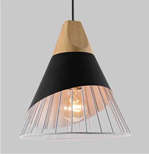 Huati kroonluchter ter decoratie van de persoonlijkheid van de familie lamp design klok houten lampenkap voor keuken eetkamer slaapkamer hal EFRA-8544