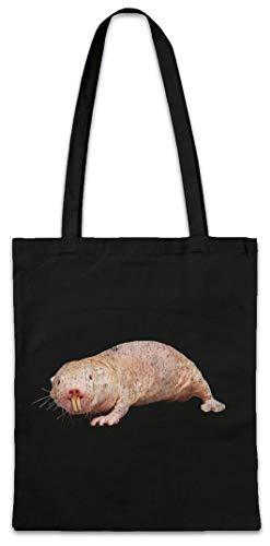 Urban Backwoods Naked Mole Rat Hipster Bag Beutel Stofftasche Einkaufstasche