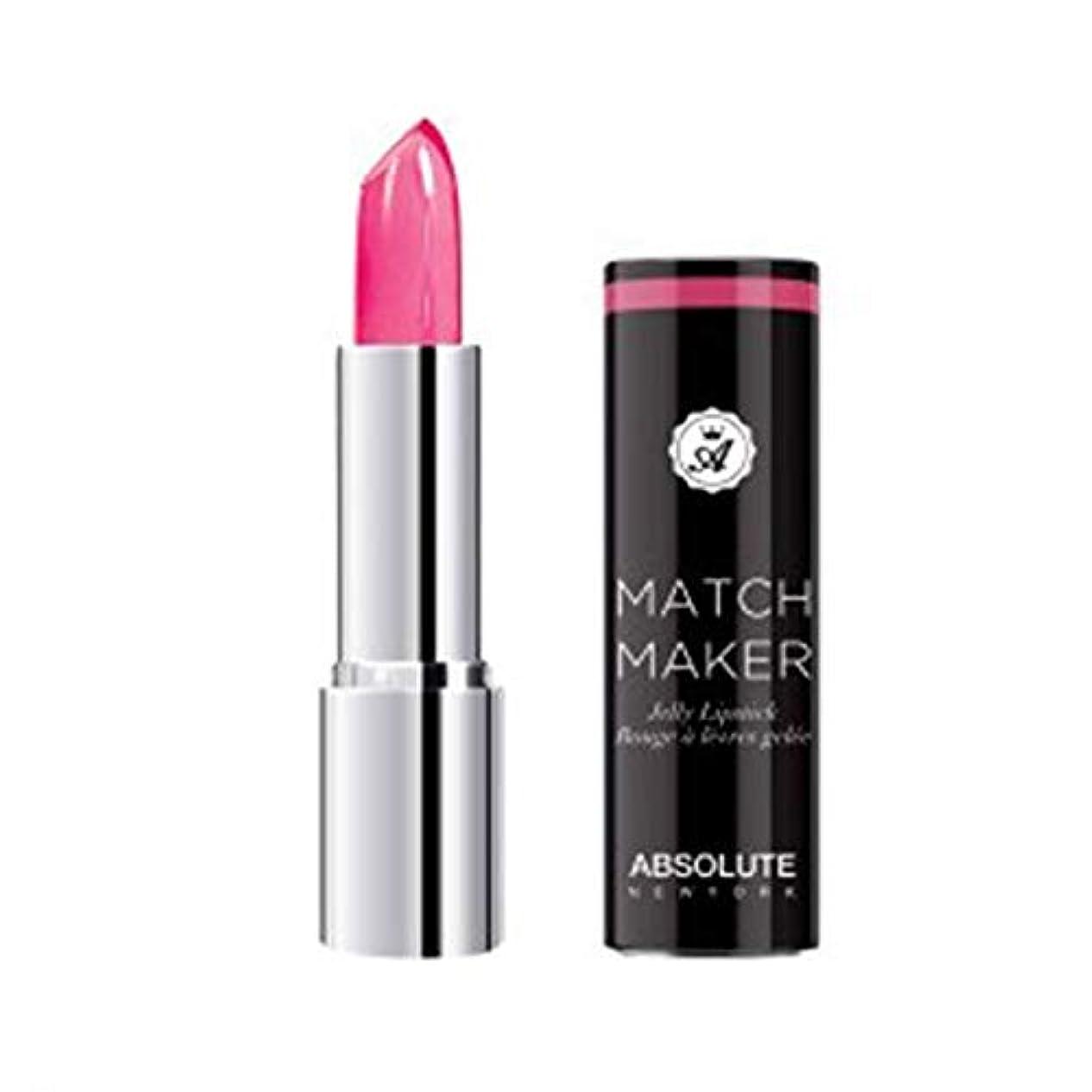コミュニケーション窒素凝縮するABSOLUTE Match Maker Jelly Lipstick - First Move (並行輸入品)