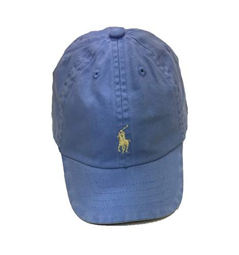Ralph Lauren Baby Boy Twill Baseball Cotton Cap Size 3M/9M Cabana Blue