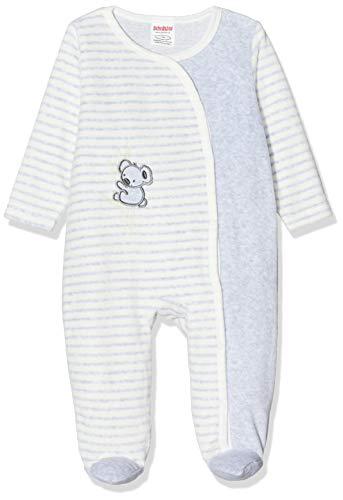 Schnizler Baby-Unisex Schlafoverall Nicki Ringel Koala Schlafstrampler, Beige (Natur 2), (Herstellergröße: 62)