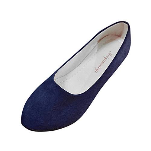 Fannyfuny Damen Flache Sandalen Frauen Halbschuh Freizeitschuhe Pointed Toe Sandalen Vorne Geschlossene Sandalen Faule Schuhe Niedrige Absatz Pumps Sandalen Bequeme Elegante Schuhe