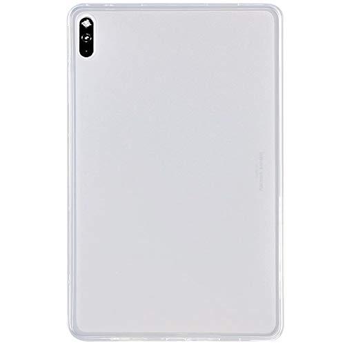 DWaybox Soft TPU Custodia in silicone per Huawei Mate Pad 10,4 pollici antigraffio trasparente opaco ultra sottile custodia protettiva posteriore - trasparente trasparente