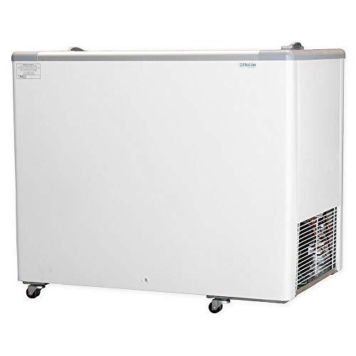 Freezer Horizontal 311 L Congelador com Tampa de Vidro Fricon 127 V