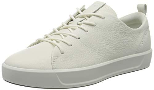 Ecco Damen Soft 8 Ladies Sneakers, Weiß (1007WHITE), 39 EU