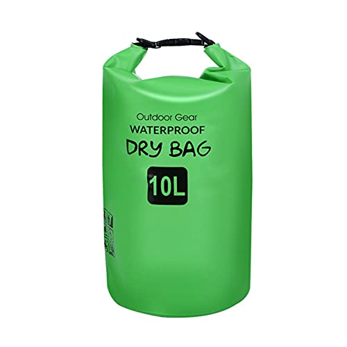 BestSiller Mochila impermeable de la bolsa seca, bolsas de almacenamiento impermeables al aire libre, mochila doble de PVC adecuada para la natación junto al mar