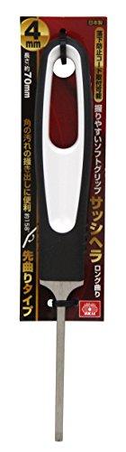 藤原産業 SK11 サッシヘラロング曲り 4mmマガリ [3533]