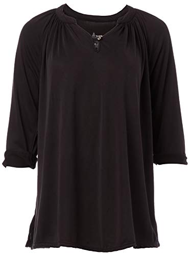 Neon Buddha Women's Chalet Top, Carbon, M