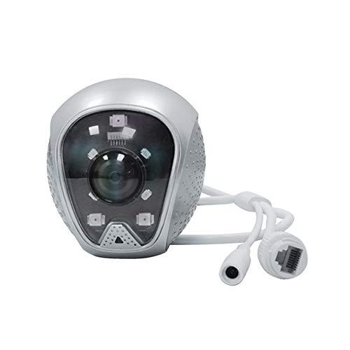 Cobeky WiFi al aire libre seguridad IP cámara 1080 p seguridad casera 120 grados gran angular cámara video vigilancia llevó alarma intermitente