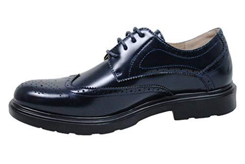 scarpe francesine uomo Evoga Scarpe francesine uomo Class vernice man's shoes casual eleganti (43