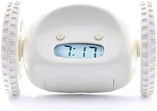 Clocky Alarm Clock on Wheels (Original)   Extra Loud for Heavy Sleeper (Adult or Kid Bed-Room Robot Clockie) Funny, Rollin...