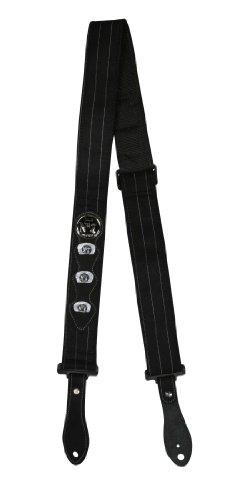 Peavey Jack Daniel's Pinstripe Strap - Bl