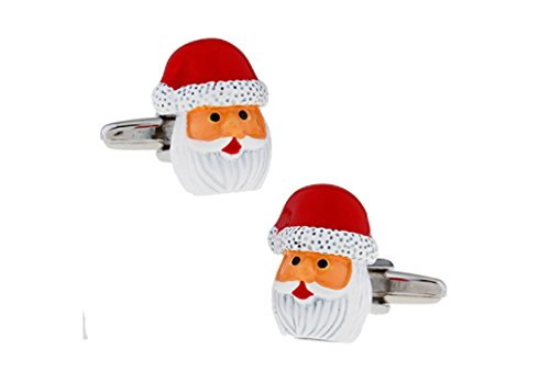 MRCUFF Presentation Gift Box Santa Claus Christmas Pair & Polishing Cloth