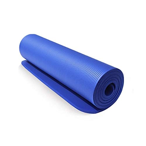 Regalo Yoga Mat, 10 mm de yoga colchonetas de yoga Esteras de la Mujer, gruesa antideslizante Yoga Mat plegable Mats grande Yoga for interior al aire libre Manta Training Fitness Deportivo Pilates Yog